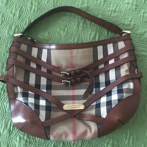 Burberry Dutton Hobo Bag